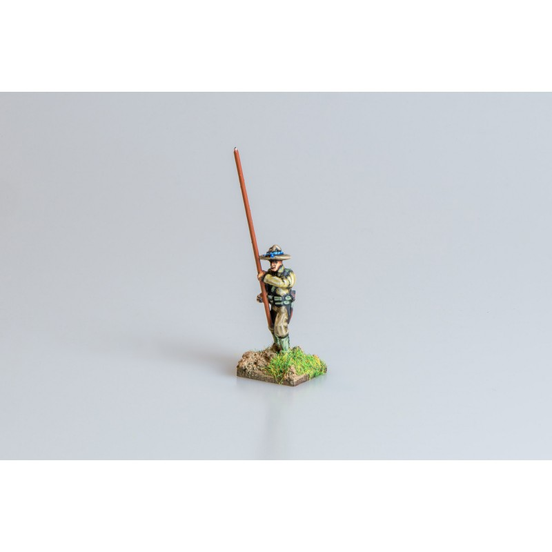 United States Army – Infantry standard bearer with separate pikestaff