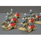 Colonial British Army - Camel corps mounted, separate saddle