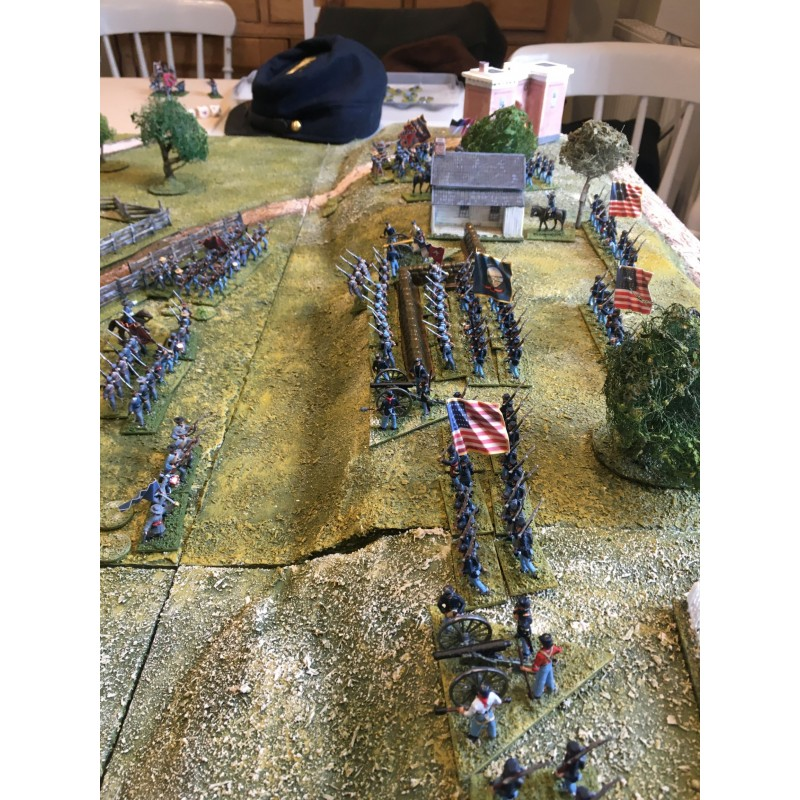Union Army – Infantry marching