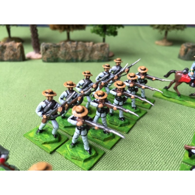 Confederate Army – Infantry standing firing