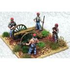 American Civil War – Gun crew (4 figures)