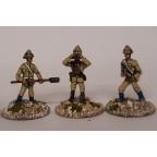 Colonial Wars – Army gun crew (4 figures)