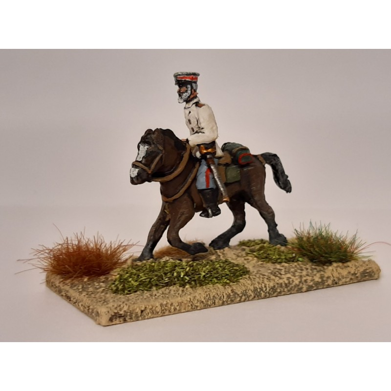 Royal Navy - Naval Brigade officer mounted