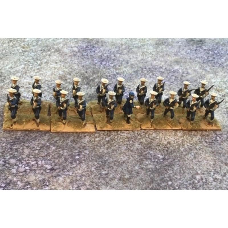 Royal Navy – Naval Brigade sailor advancing