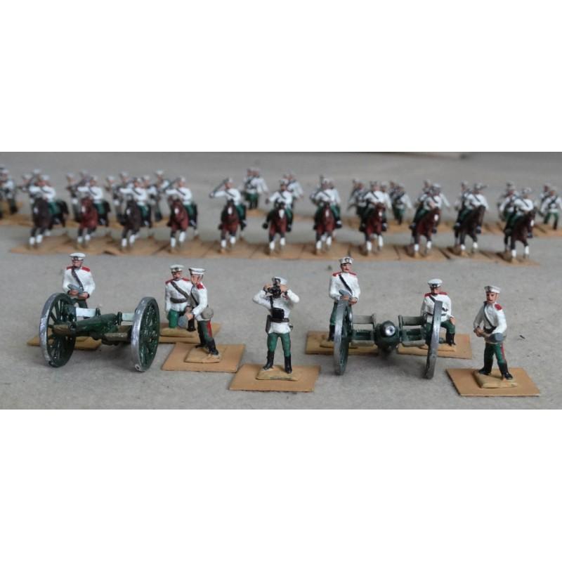 Russo-Japanese War - Artillery and Equipment - Russian gun crew (4 figures)