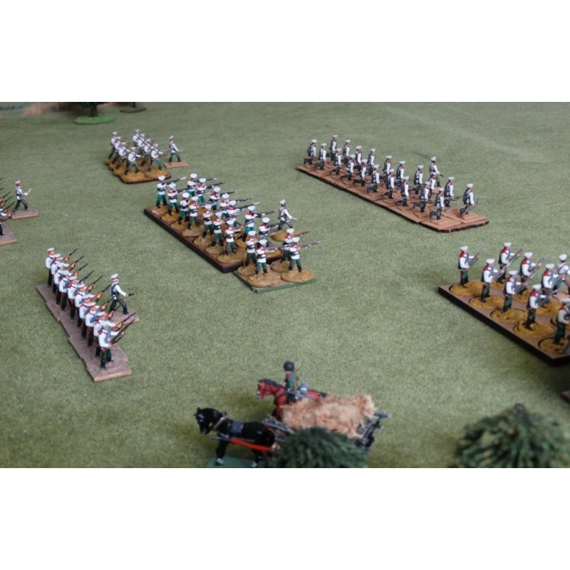 Russian Army – Infantry advancing