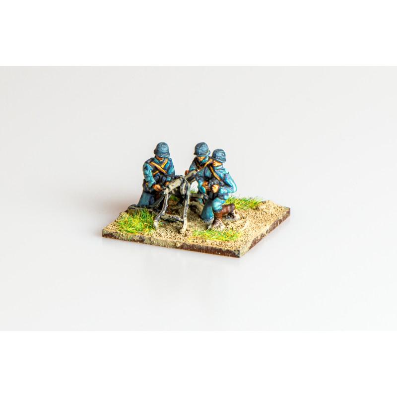 German Army – German machine gun and crew