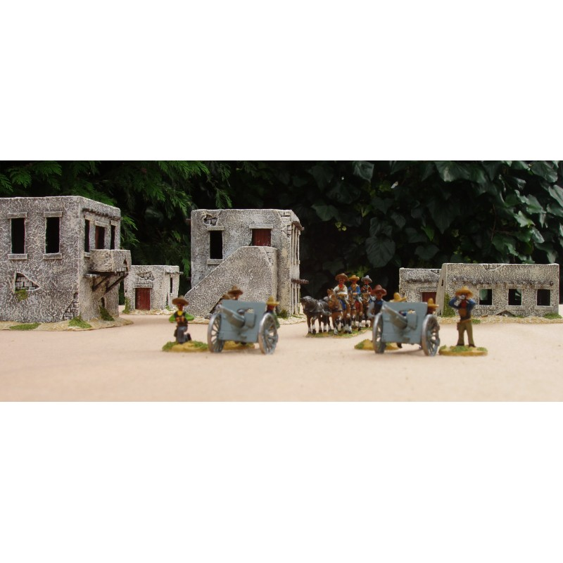 US Punitive Expedition – Mexican Six horse team 75mm gun, limber and five crew