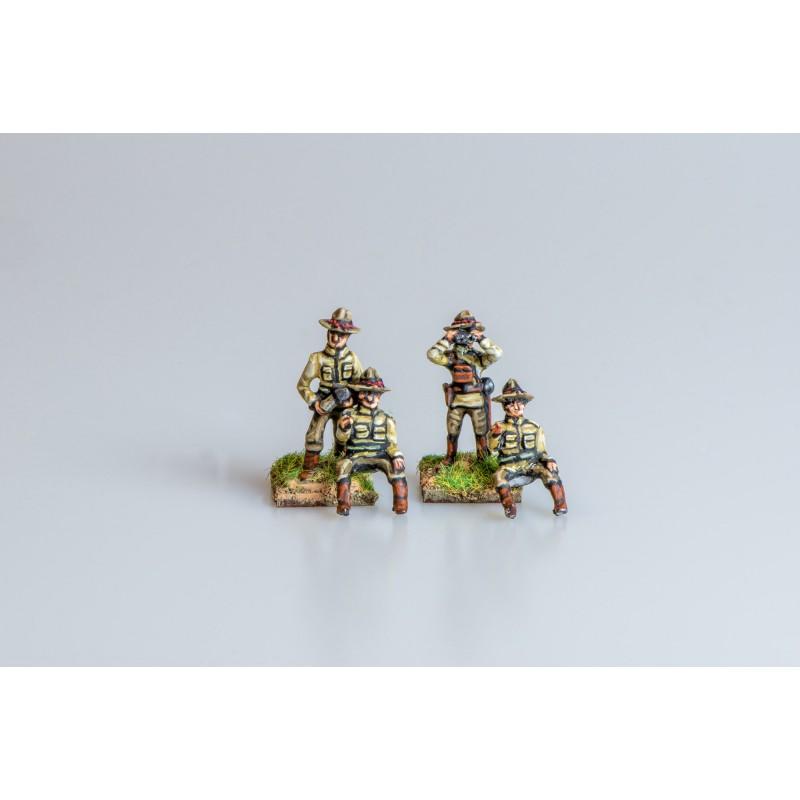US Punitive Expedition – US Gun crew (4 figures)
