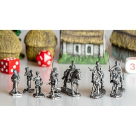 Japanese Army Figures (8)