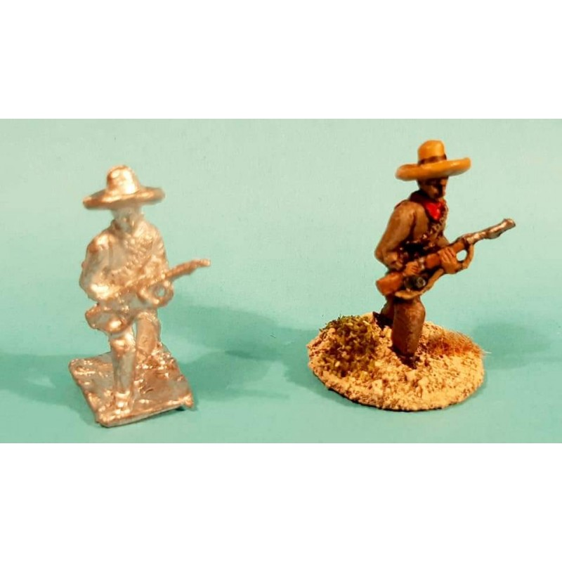 Mexican Army – Infantry advancing